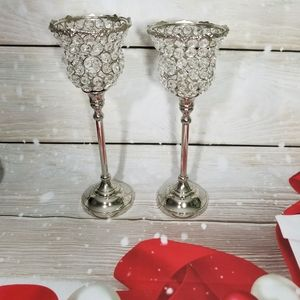 NWT At Glam Candle Holders Set of 2